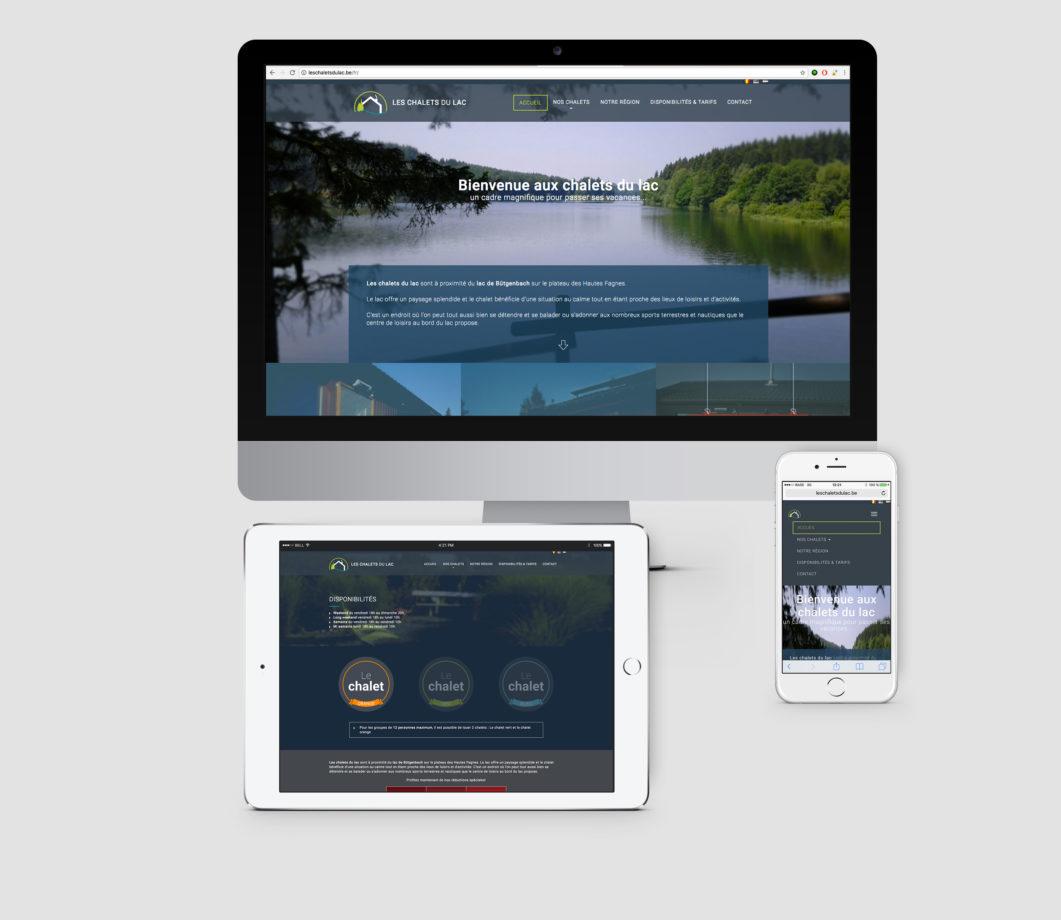 image portfolio - Les chalets du lac - 2