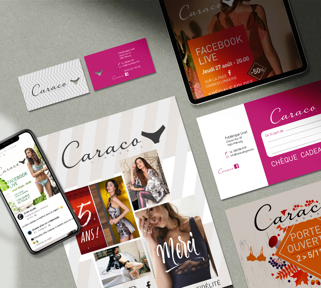 image portfolio - Caraco lingerie - 2